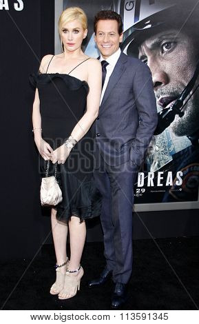 Alice Evans and Ioan Gruffudd at the Los Angeles premiere of