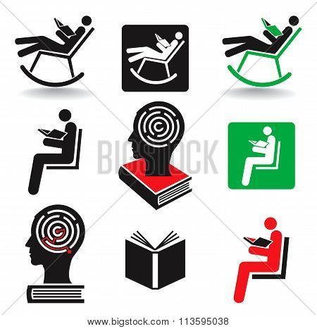 Reader Book Icons