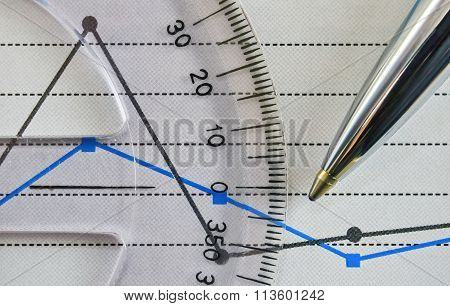 Protractor And Chart