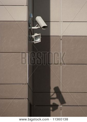 Video camera of the security