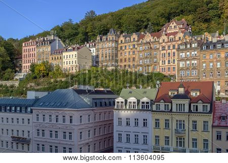 View Of Karlova Vary, Czech Republic
