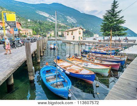 Torbole - Wind Surfers Paradise On Lake Garda, Italy