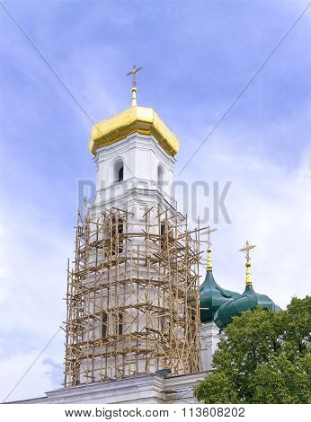 Belfry Of Orthodox Church