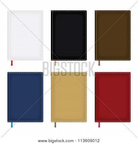 Notebook Diary Blank Cover Set