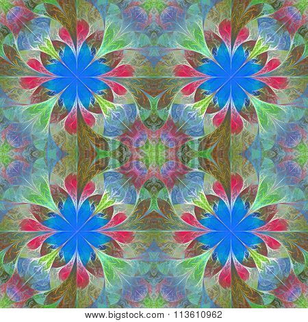 Beautiful Pattern In Fractal Design. You Can Use It For Invitations, Notebook Covers, Phone Case, Po