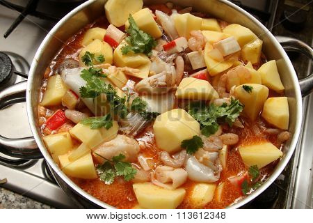 beautiful fish stew