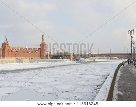 White Ship - The Icebreaker In Moscow