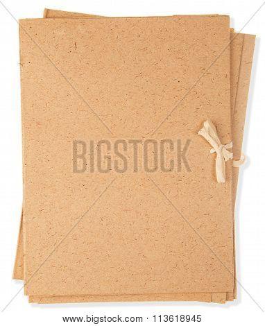 Brown, Cardboard Folders