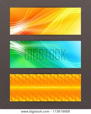 Set Of Horizontal Banner Header Website14