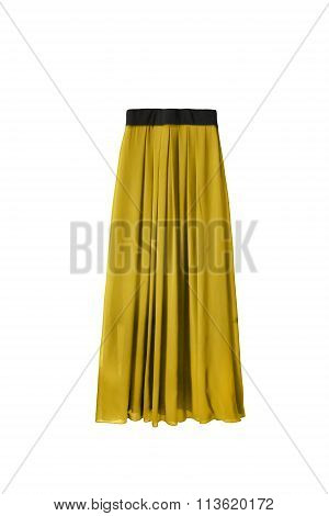 Maxi Skirt Isolated