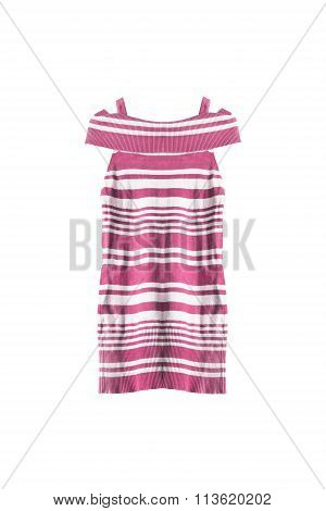 Striped Tunic Isolated
