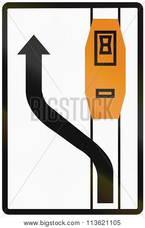 Road Sign Used In Slovakia - Tram Overtaking