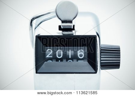 2016 on tally counter