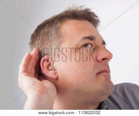 Deaf Man Cant Hear