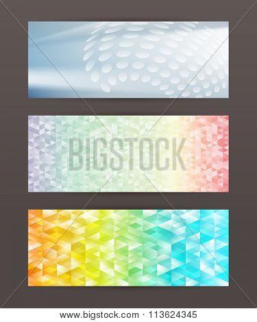 Set Of Horizontal Banner Header Website31