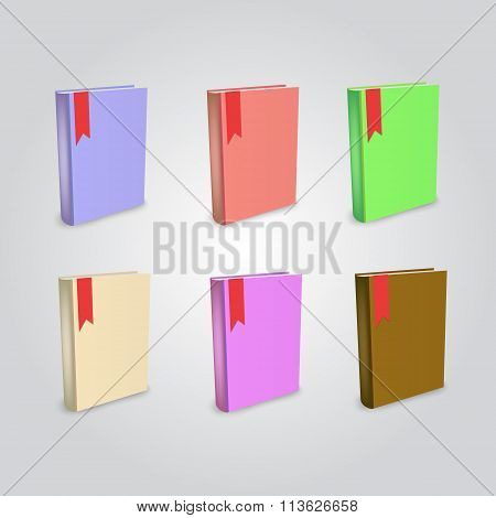 Blank Book Isolated Mockup To Replace Your Design
