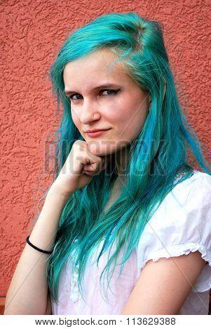 Grunge female beauty