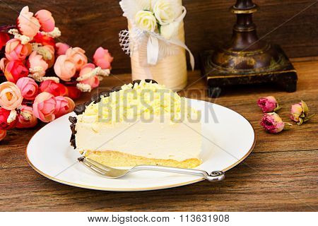 Homemade Cakes: Vana Tallin Cake on Plate