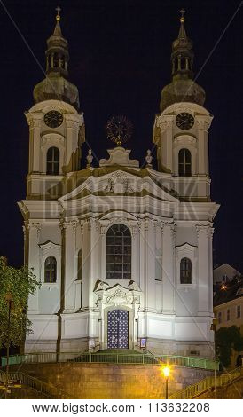 Church Of St. Mary Magdalene,karlovy Vary