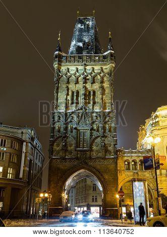 Prague Powder Tower