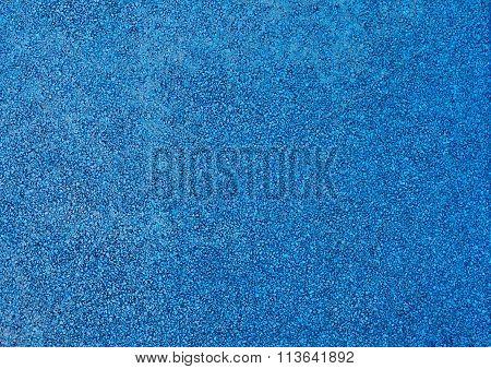 Horizontal Texture Of Light Blue Tarmac Floor Texture Background