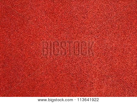 Horizontal Texture Of Red Tarmac Floor Texture Background