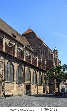St. Lorenz Church In Nuremberg, Germany, 2015