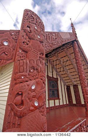 Maori Meeting House - Rotorua