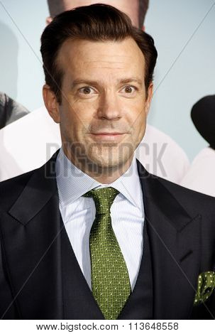 Jason Sudeikis at the Los Angeles premiere of