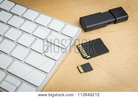 Wireless Keyboard Delete Button And Memory Storages