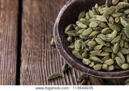 Heap Of Dried Cardamon
