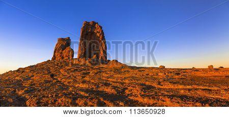 impressive Roque Nublo Tejeda , Gran Canaria island