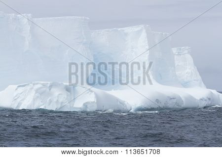 Blue Glacial Iceberg, Antarctica
