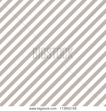 Taupe geometric diagonal line seamless vector pattern.