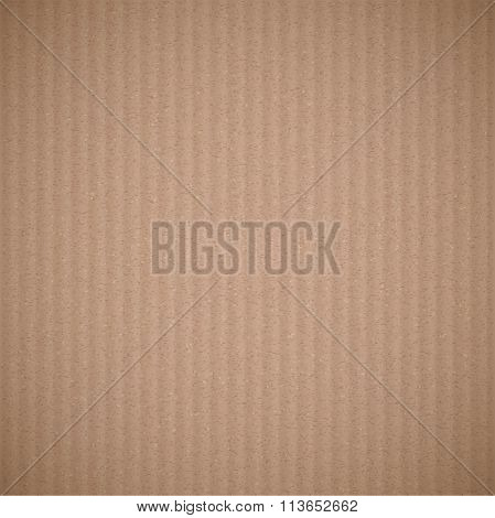 Texture Of Cardboard. Stock Illustration.