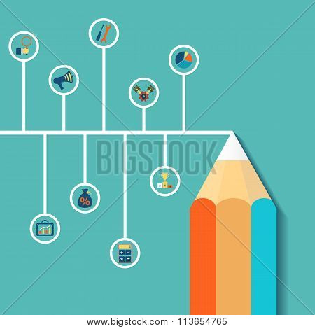 Creative Infographics. Stock Illustration.
