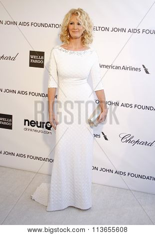 Sandra Lee at the 21st Annual Elton John AIDS Foundation Academy Awards Viewing Party held at the West Hollywood Park in Los Angeles, USA on February 24, 2013.