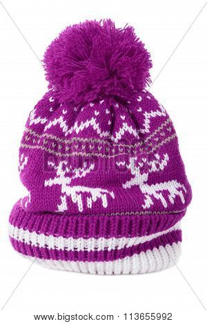 Pink Ski Hat