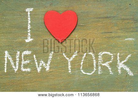 Text I Love New York