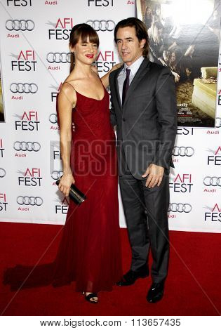 Dermot Mulroney and Juliette Lewis at the AFI Fest 2013 Gala Screening of