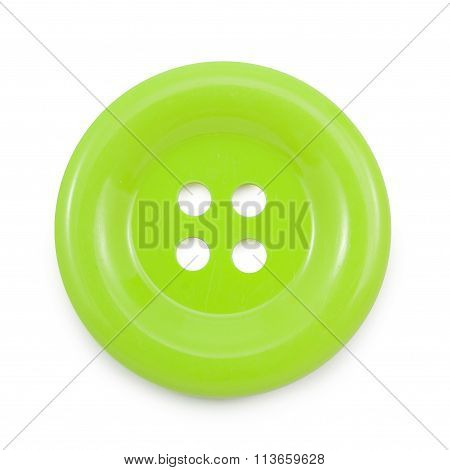 Green clasper on a white background file includes a excellent clipping path