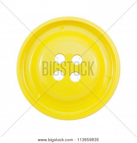 a yellow clasper on a white background
