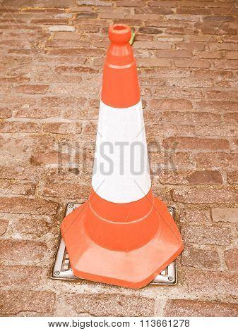 Traffic Cone Vintage