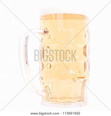 German Beer Glass Vintage
