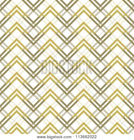 Abstract Seamless Geometric Pattern With Zigzag Elements