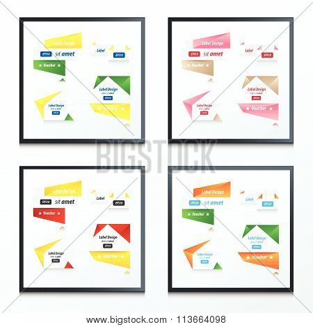 Banner Origami Set