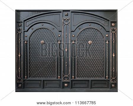 Decorative Metal Gate By Ornament.
