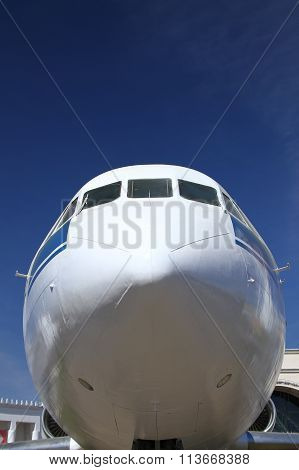 The fuselage of the aircraft