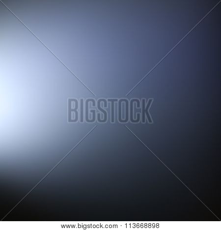 Ethereal Blue Light Effect Background