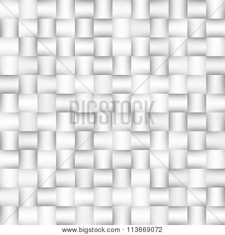 Vector Seamless Greyscale Gradient Squares Lattice Geometric Pattern